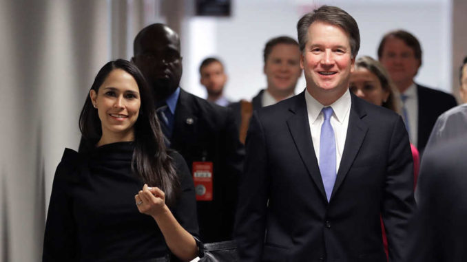 Justice Brett Kavanaugh hit the ground running in his new job yesterday, showing up for work early yesterday to confirm the appointment of his first four law clerks — and liberals are outraged.