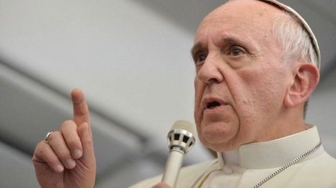 Pope Francis slams nationalism, saying it leads to Hitler