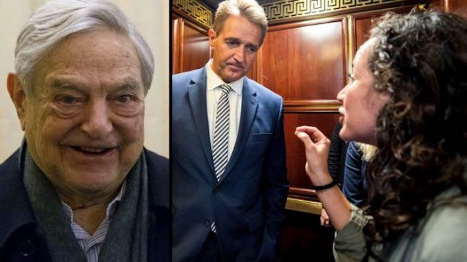 Soros-funded elevator girl made almost 200k last year in Democrat activism