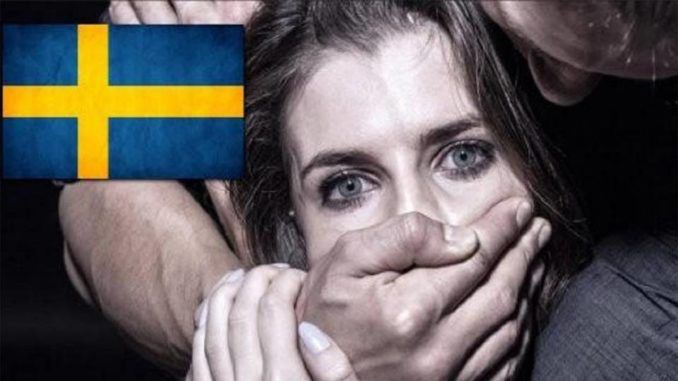 A 29-year-old Muslim migrant has been sentenced to prison for raping a Swedish woman at a swimming pool on an island near Stockholm, according to court documents.