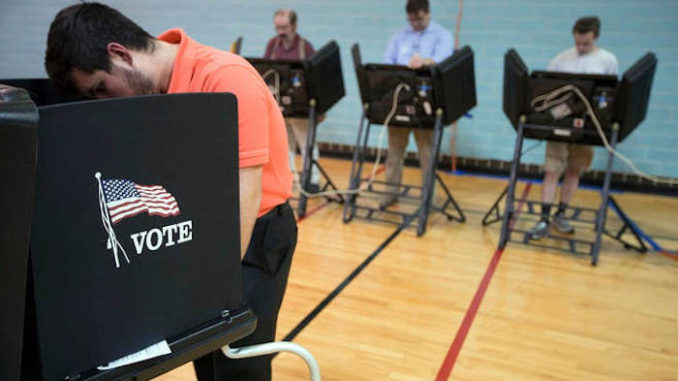 Texas voting machines are swapping votes