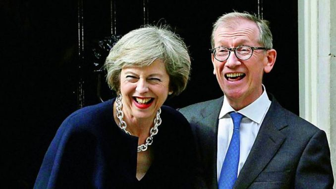 Theresa May's husband set to profit from UK's cannabis reform