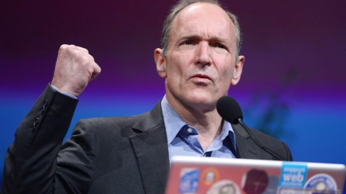 Tim Berners-Lee is launching a new platform that he believes will release humanity from the control wielded by Google and Facebook.