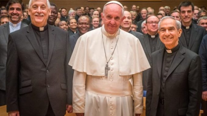 New evidence has emerged that reveals the role theJesuit order, led by Pope Francis, is playing in the current US border crisis. According to their own website, Jesuits.org, the Catholic order is helping to assist illegal aliens to enter the United States criminally.