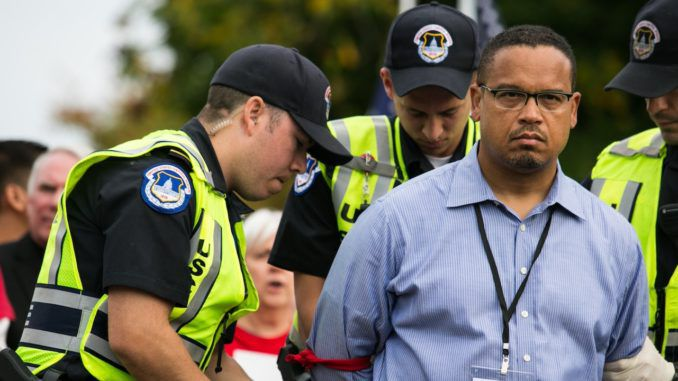 Keith Ellison forced to resign from DNC amid sexual assault allegations