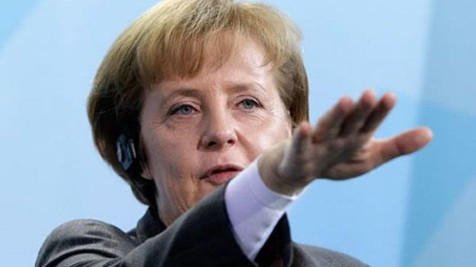 Angela Merkel calls for new EU army to dominate Europe