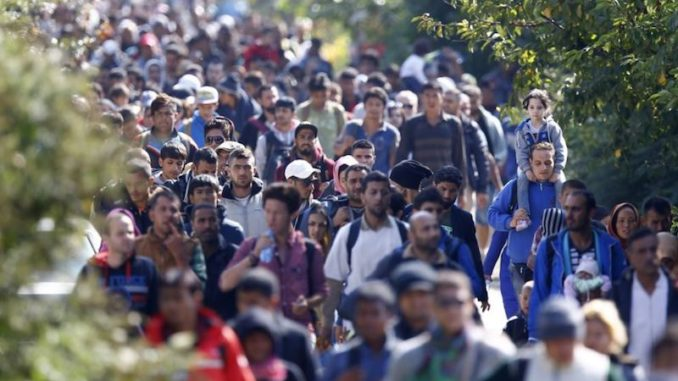 """A new UN agreement, which almost all member states plan to sign in December, propagates the radical idea that borders must be opened and a """"new world"""" created, where mass migration – for any reason – is something that must be promoted, enabled and enshrined as a """"human right."""""""