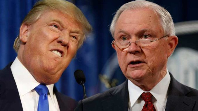 President Trum[ fires AG Jeff Sessions