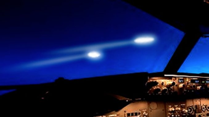 "Multiple sightings by commercial airline pilots of an unidentified object flying at ""astronomical"" speed before disappearing off the coast of Ireland has sparked an investigation by the Irish Aviation Authority."