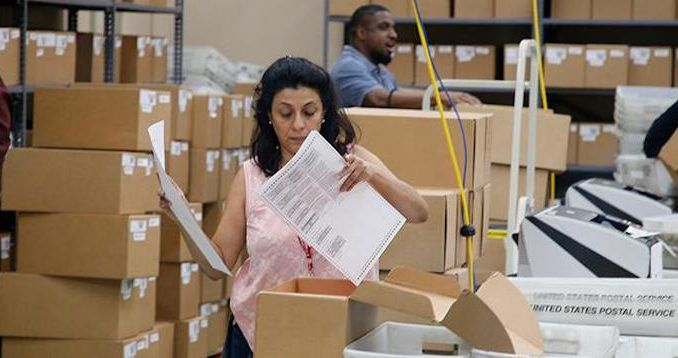 A Broward County election volunteer has signed a sworn affadavit stating she was fired after witnessing officials duplicating votes.
