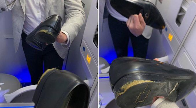 Delta airlines forces passenger to sit in feces during entire 2 hour flight