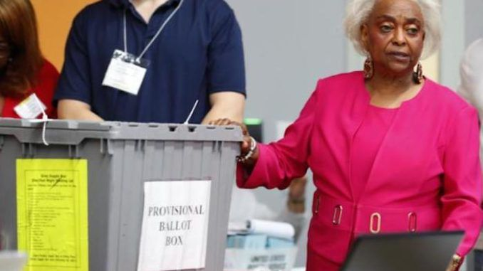 Florida Democrats have been caught illegally altering forms in order to provide an incorrect date for a voter to cure a defect with their mail-in ballot, according to reports from Tampa.