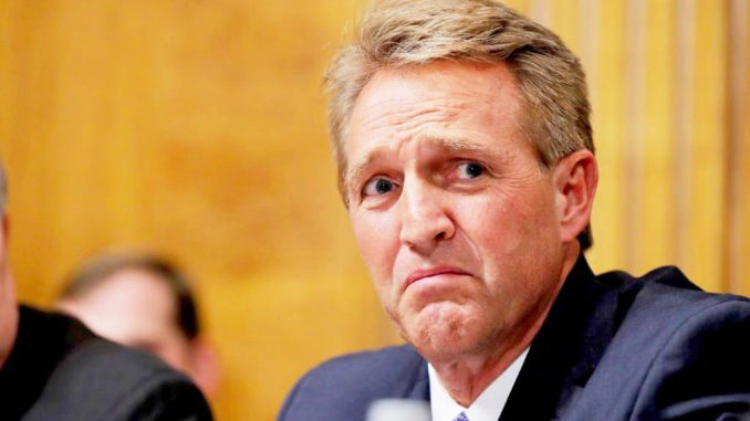 Jeff Flake vows to push bill that will protect Mueller probe