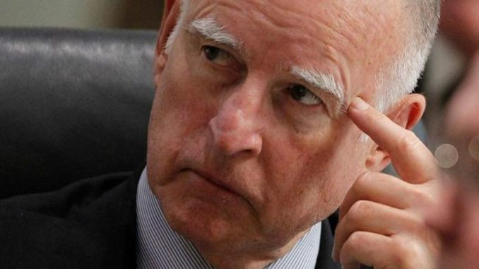 California Gov. Jerry Brown admits Trump was right about wildfires