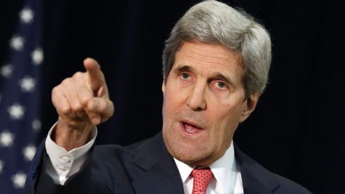 John Kerry claims people will die because of Trump's climate change views