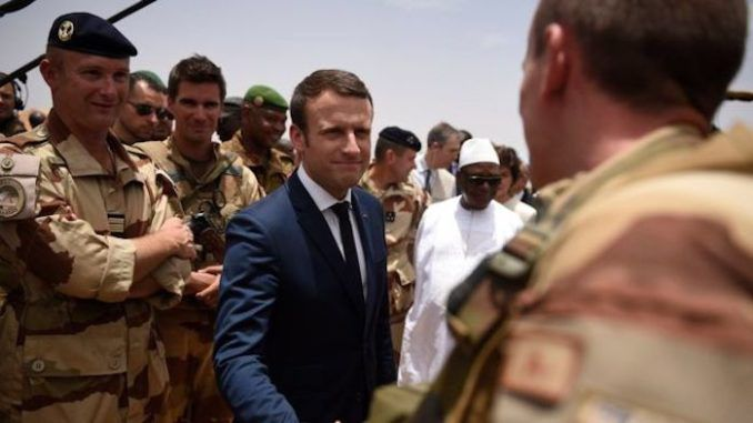 "French President Macron has used the centenary of the end of the First World War to issue a call for a ""real"" European army, stating that Europe needs a military to protect itself from the United States of America."