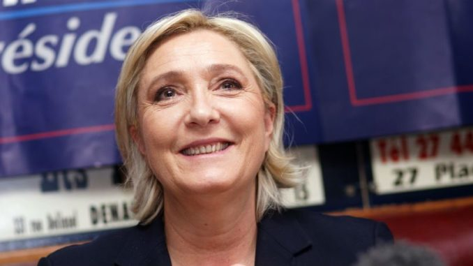 Marine Le Pen soars ahead of Macron in European elections