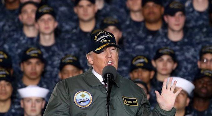 Trump deploys marines to protect US border from migrant invasion