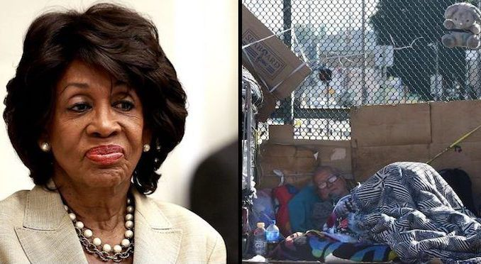 Democratic Rep. Maxine Waters' 43rd District is home to some of the filthiest, disease-ridden slums in the world, with conditions in vast swathes of the district worse than in slums found in third world nations in Africa and Central America.