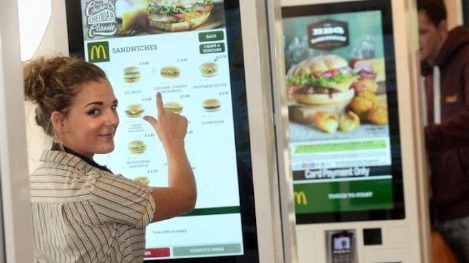 Traces of faeces and bacteria that can cause blood poisoning and toxic shock syndrome have been found on every single McDonald's touchscreen tested as part of a London Metropolitan University study.