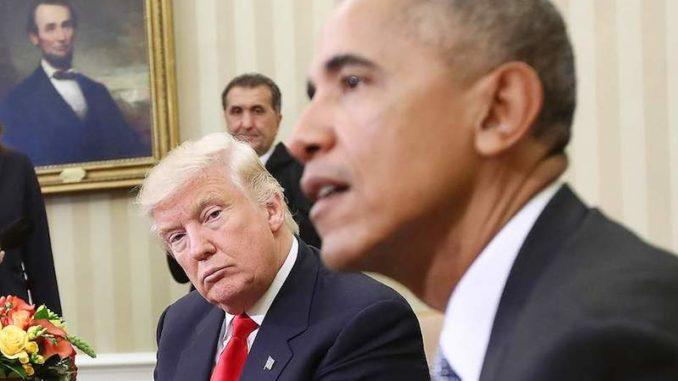 President Obama attempted to enlist the help of President-Elect Trump in covering up his surveillance practices, say insiders.