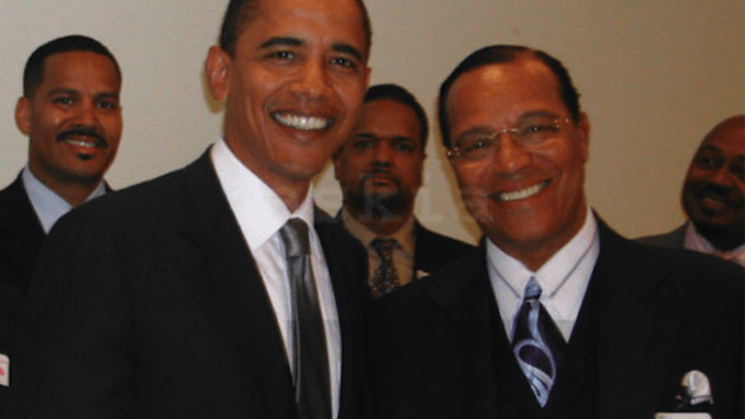 Louis Farrakhan caught chanting 'death to America' in Iran