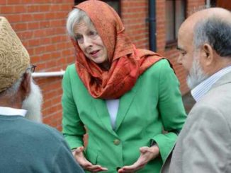 "British Prime Minister Theresa May believes the United Kingdom ""benefits greatly"" from the existence of Sharia Law."