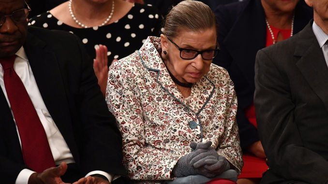 Supreme Court Justice Ruth Bader undergoes lung cancer surgery