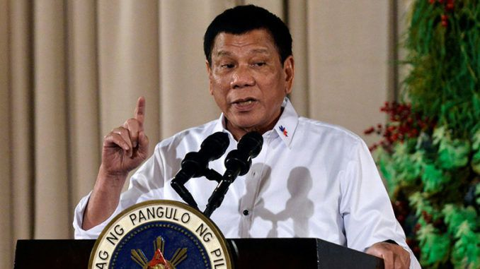 The Catholic Church is run by evil pedophiles who do not worship the Christian God, according to the Philippines President Duterte.