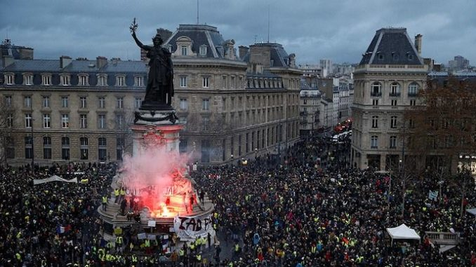 Civil war looms as French revolution spreads across Europe