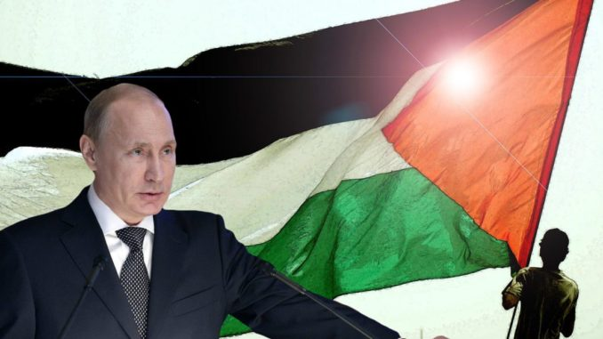 Putin vows to fight for Palestinians right to their own State
