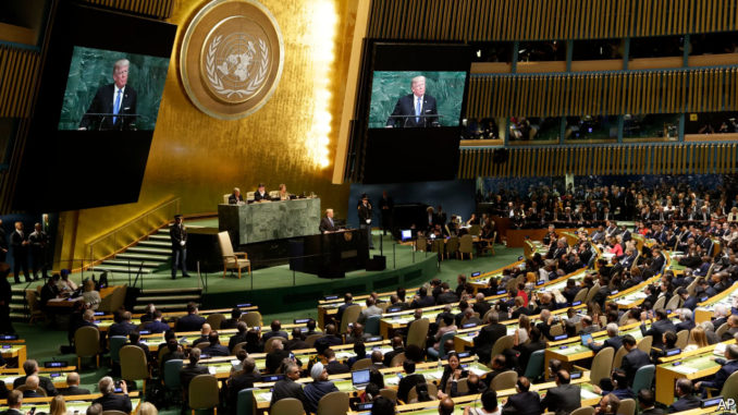 Trump is stopping the UN from becoming a one world government