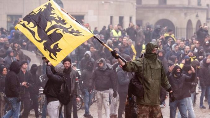 Outraged Belgian patriots have risen up and overthrown their deceitful Prime Minister after he signed the UN Global Migration Compact against the wishes of the nation's citizens.
