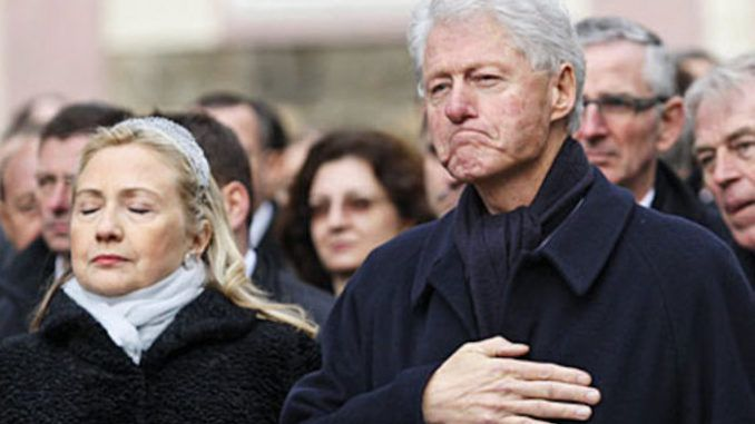 Former president Bill Clinton told a bare-faced lie to the whole nation when he said the Clinton family did not pay for Chelsea's wedding using Clinton Foundation donations intended for the Haiti Relief Fund, according to documents released by WikiLeaks.