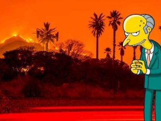 The Simpsons predicted California wildfires