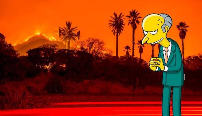 The Simpsons Predicted California Wildfires In 2016