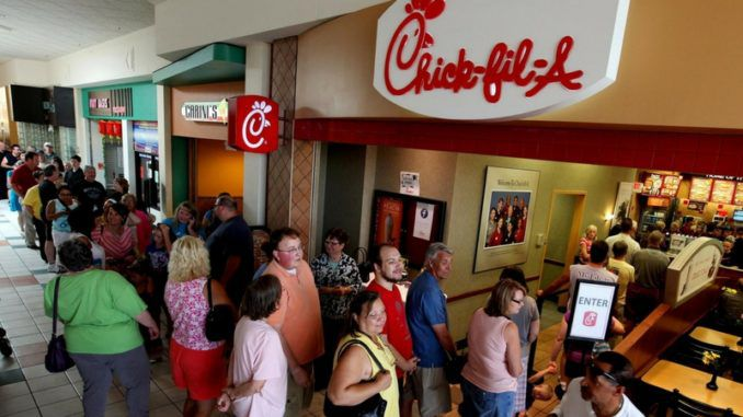 Liberals organized a nationwide boycott of Chick-fil-A, the fast-food restaurant owned by Christians who close their stores on Sunday to observe the Sabbath, however as with many liberals brainwaves, the boycott seems to have backfired completely.