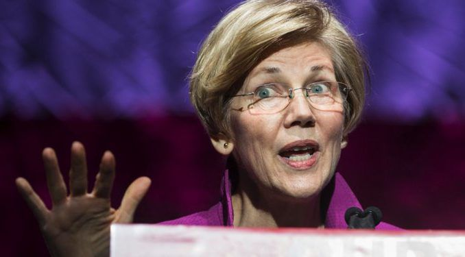 """Democratic Sen. Elizabeth Warren finally admitted on Friday that she is white and """"not a person of color"""" at Morgan State University."""