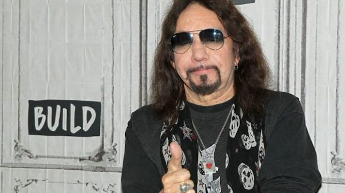 American citizens should support President Trump's America First policies or leave the US and move to another country, according to KISS guitarist Ace Frehley.