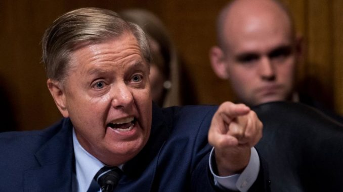 "South Carolina Republican Sen. Lindsey Graham said Saturday that if he takes over as chairman of the Senate Judiciary Committee, as is expected, he will ""get to the bottom"" of whether Obama loyalists in the FBI misled the FISA court to illegally spy on the Trump campaign."