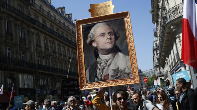 """President Macron's French government have opened a probe into """"possible Russian interference"""" behind the nation's Yellow Vest grassroots protests that have rocked France with a ferocity unseen in decades, and are threatening to bring down the government."""