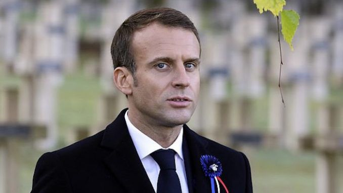 Emmanuel Macron declared a traitor by his own military