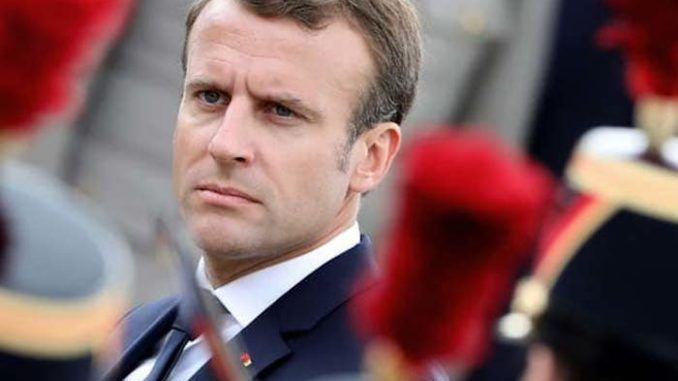 Macron pleads to Yellow Vests protestors, asking them to allow New World Order to resume control