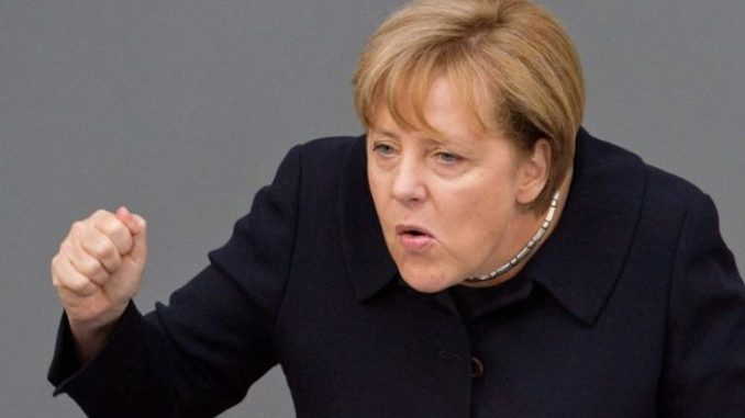 """Nation states must today be prepared to give up their sovereignty"""", according to German Chancellor Angela Merkel."""