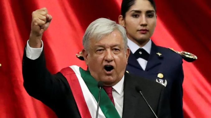 New Mexican president vows to destroy the New World Order
