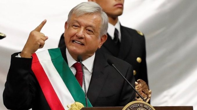 Mexico's new pro-Trump president promises to end migrant caravan