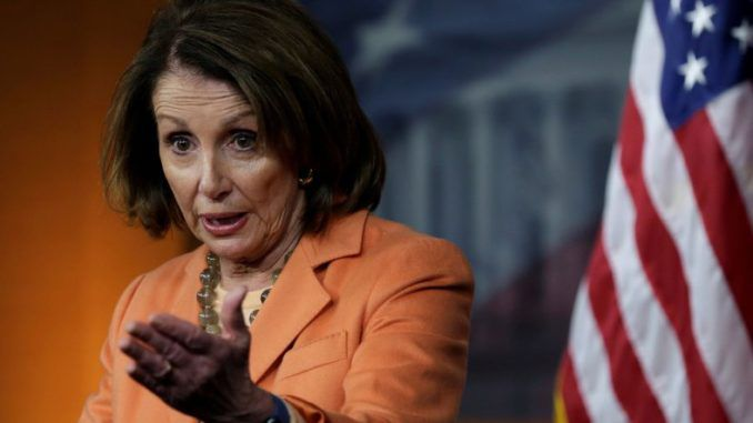 Nancy Pelosi promises to close government forever