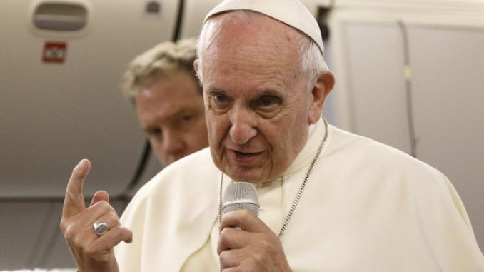Pope Francis says there is no room for homosexuality in the priesthood, even though pedophilia has been covered-up