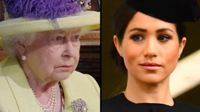 Buckingham Palace upset after Meghan Markle is caught raising money for Islamic terrorists
