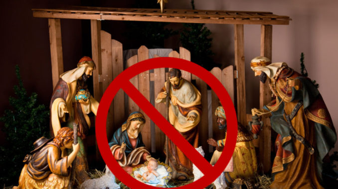 """To celebrate the birthday of Jesus Christ, the Robious Middle School in Midlothian, Virginia, has banned all Christmas carols that mention his name in order to be """"sensitive"""" to students of """"diverse"""" backgrounds."""